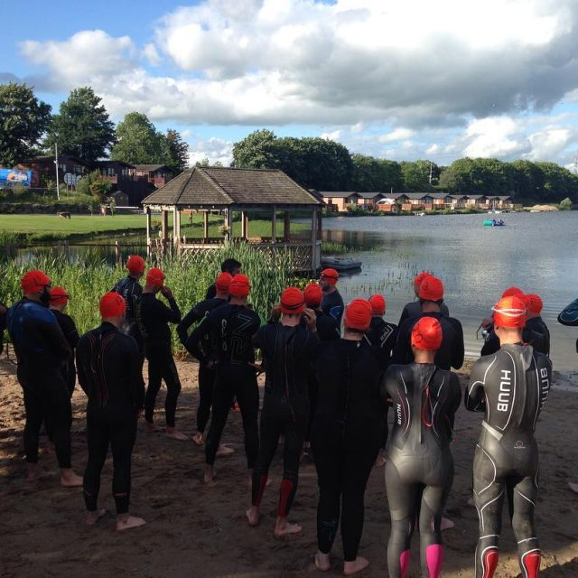 Orange Is The New Black Monday night open water swimmershellip