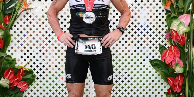 Then Club Captain, Richard Mason in Kona, 2011